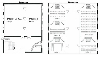 Hotel Meerane : Floor Plan (meeting room)