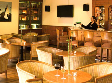 IAT Plaza Hotel Trier: Bar/Lounge