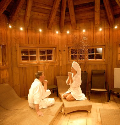 Hotel Alpine Palace: Wellness/Spa
